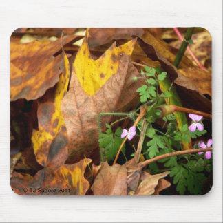Pequeño mousepad de las flores alfombrillas de raton