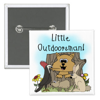 Pequeño Outdoorsman Pins