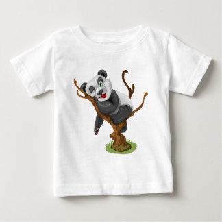 Pequeño panda camiseta de bebé