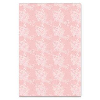Pequeño papel seda del estampado de flores de los