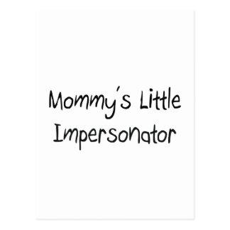 Pequeño personificador de Mommys Postal