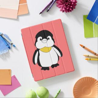 Pequeño pingüino lindo cubierta de iPad