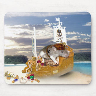 Pequeño pirata Mousepad Alfombrilla De Ratón