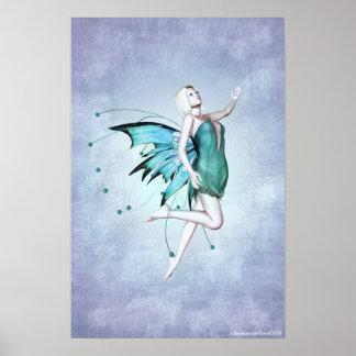 Pequeño poster de Luna Fae Póster