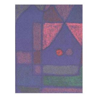 Pequeño sitio en Venecia de Paul Klee Postal