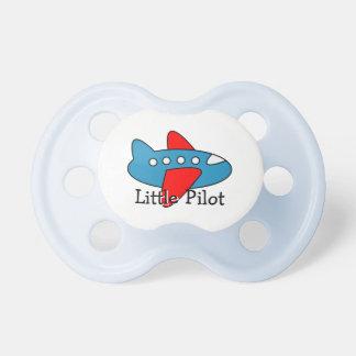 Pequeño tema experimental de la aviación del chupetes para bebés