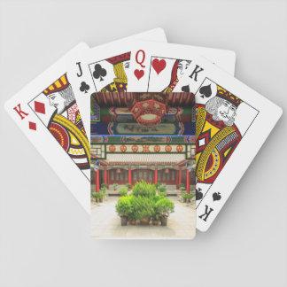 Pequeño templo salvaje del ganso, China Baraja De Cartas
