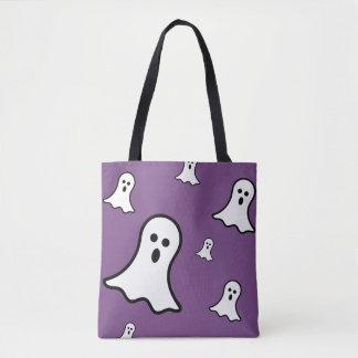 Pequeño tote de Halloween de los fantasmas Bolso De Tela