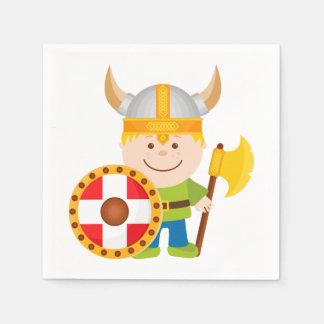 Pequeño Viking Servilletas Desechables