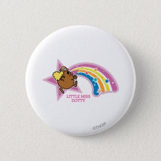 Pequeños arco iris de persecución de Srta. Dotty Chapa Redonda De 5 Cm