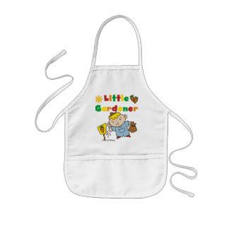 Pequeños camisetas y regalos del jardinero del muc delantal infantil