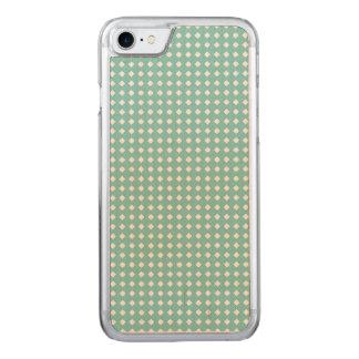 Pequeños diamantes blancos del modelo lindo funda para iPhone 7