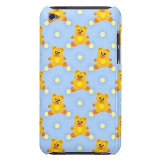 Pequeños osos de peluche lindos barely there iPod carcasa