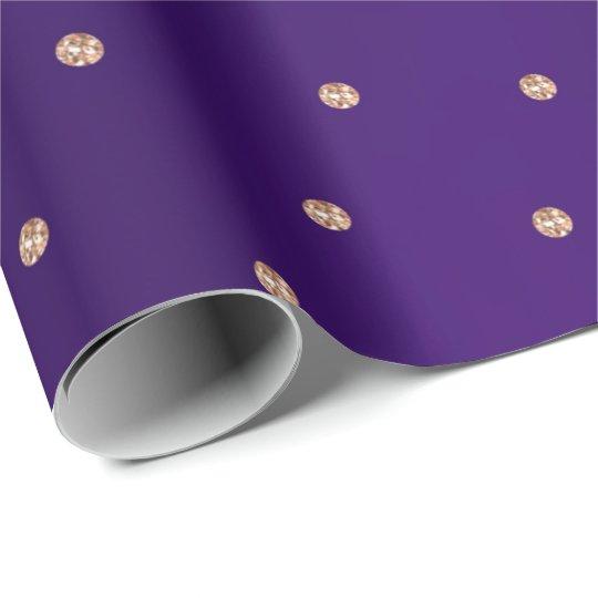 Pequeños puntos de los cristales Swarovski color Papel De Regalo