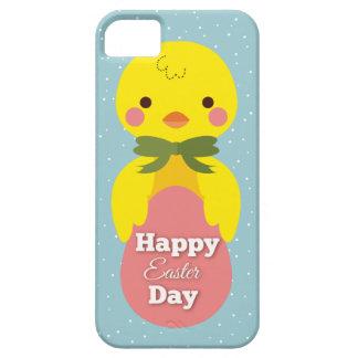 Pequeños saludos lindos de pascua del polluelo del funda para iPhone SE/5/5s