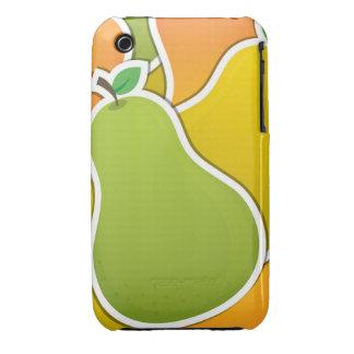 Pera mezclada enrrollada funda para iPhone 3 de Case-Mate
