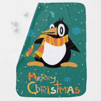Percius la manta del bebé de las Felices Navidad