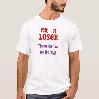 Perdedor T #8 Camiseta