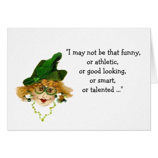Perder a mi señora caprichosa de la mente tarjeta de felicitación