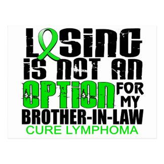 Perder no al cuñado del linfoma de la opción postal