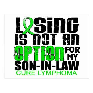 Perder no al yerno del linfoma de la opción postal
