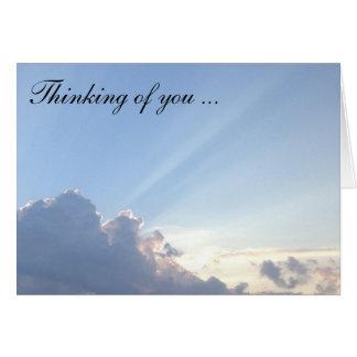Pérdida/pérdida/en condolencia tarjeta de felicitación