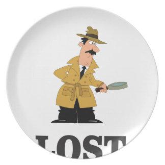 perdido algo plato
