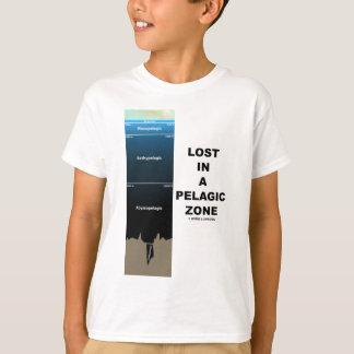 Perdido en una zona pelágica (humor de la camiseta
