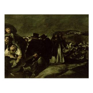 Peregrinaje a la fuente de San Isidro, c.1821/3 Postal
