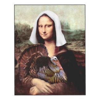 Peregrino de Mona Lisa de la acción de gracias