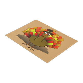 Peregrino de Turquía del dibujo animado de la