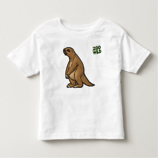 Pereza de tierra gigante camiseta de bebé