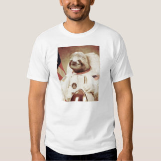 Pereza del astronauta camisetas