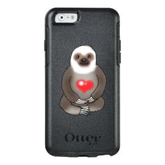 pereza linda con el corazón rojo funda otterbox para iPhone 6/6s