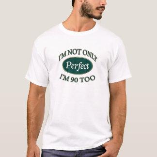 Perfeccione 90 años camiseta