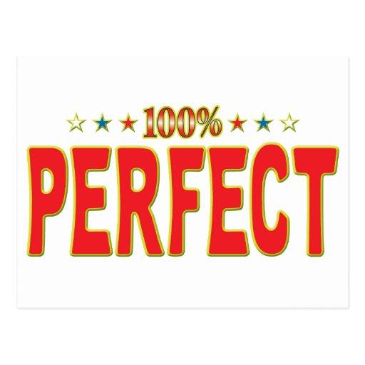 Perfeccione la etiqueta de la estrella postal