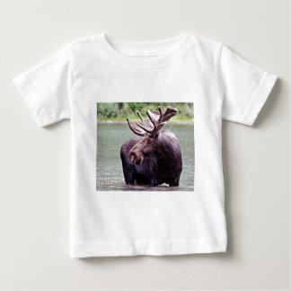 Perfil de los alces camiseta