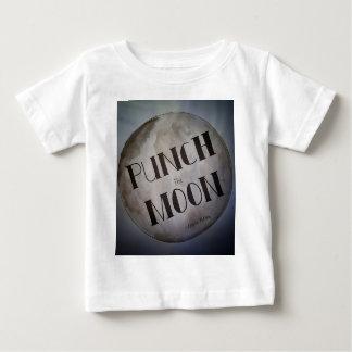 Perfore los productos de la luna camiseta de bebé