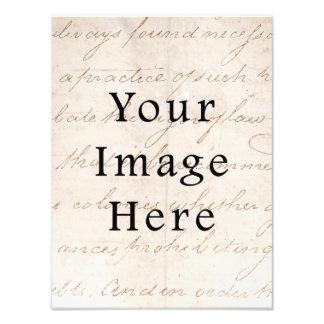 Pergamino del texto de la escritura de Brown de la Fotos