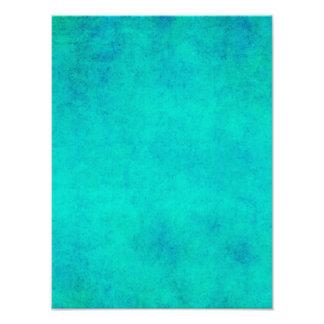 Pergamino púrpura del verde azul de la aguamarina arte con fotos
