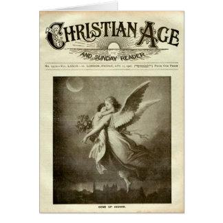 Periódico cristiano tarjeton