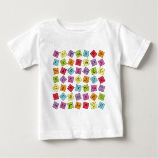 Periódico elemental camiseta de bebé