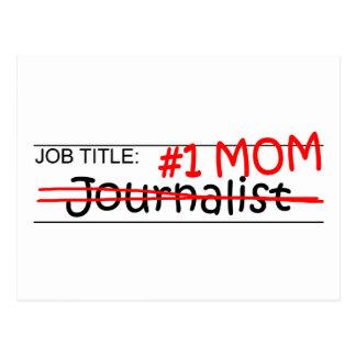 Periodista de la mamá del trabajo postal
