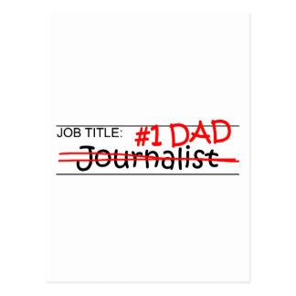 Periodista del papá del trabajo postal