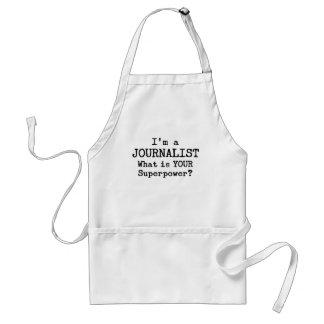 periodista delantal