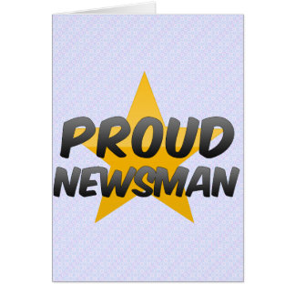 Periodista orgulloso felicitaciones
