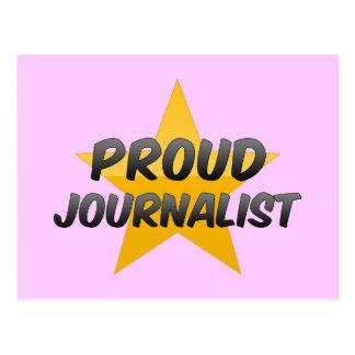 Periodista orgulloso postales