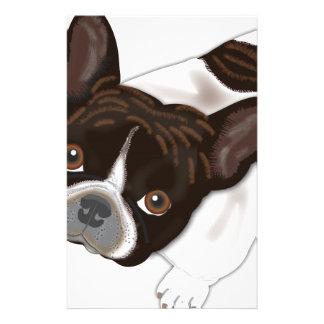 Perla de Bailey el perro de Frenchie Papeleria De Diseño