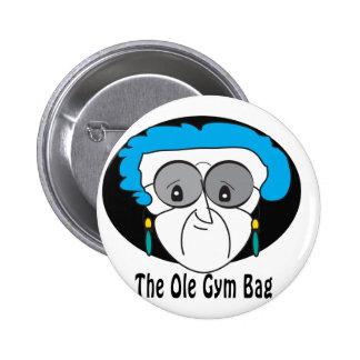 Perla el bolso viejo del gimnasio pin