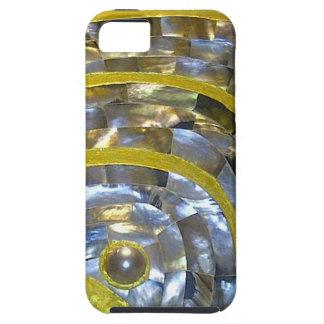 Perla y oro iPhone 5 protector